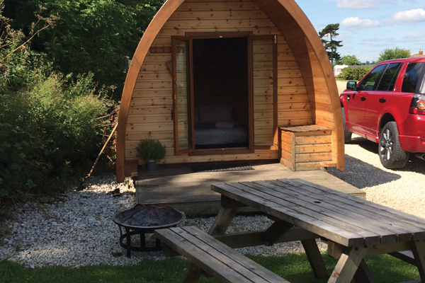 Forestside Farm Camping Pods