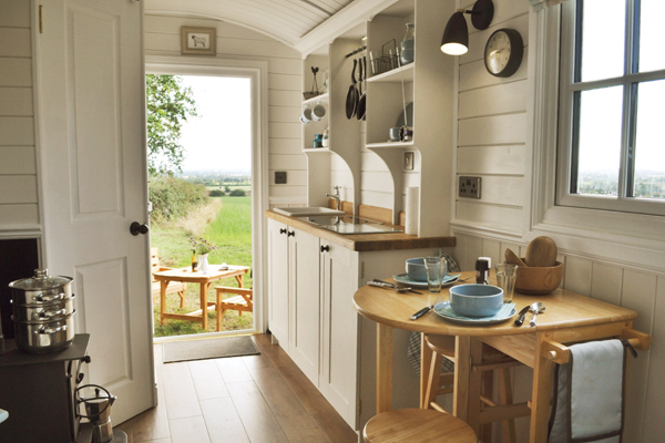 Hill View Farm Shepherds Hut