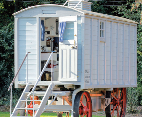 Malvern Farm Shepherds Hut