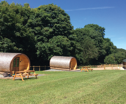 Castle Farm Glamping Pods and Huts