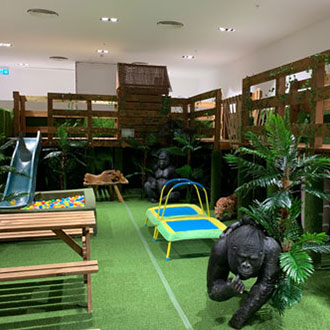 Kids Jungle play centre at Jungle Mania
