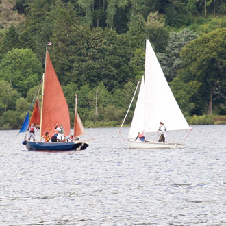 Legend Sailing in the Loch Tay Highland Perthshire area