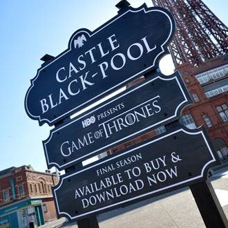 Blackpool Game Of Thrones Take-over