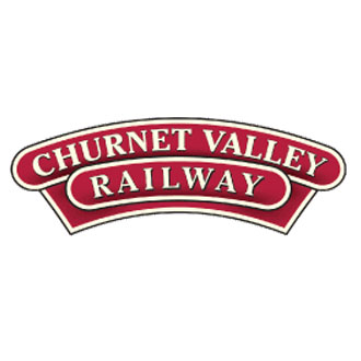 Goodbye And Thank You Caley - Churnet Valley Logo
