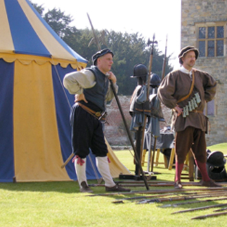 Historical event at Penshurst Place