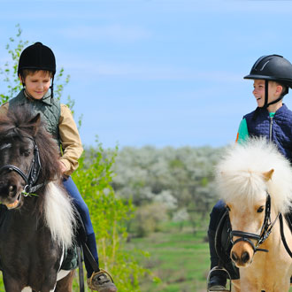 Children horse riding - 7 Child-friendly Activities in Wales