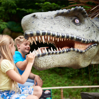 Wookey Hole Cave Dinosaurs