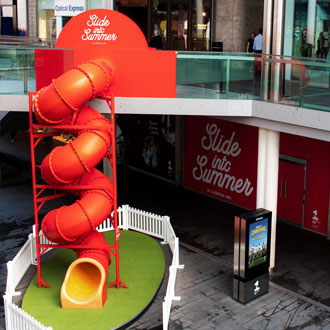 Liverpool ONE Slide