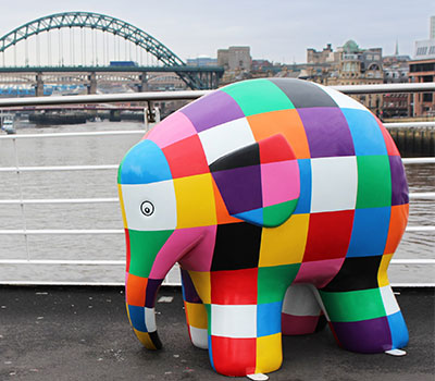 Elmer hits the North East this summer