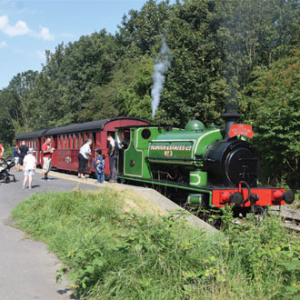 Middleton Railway train