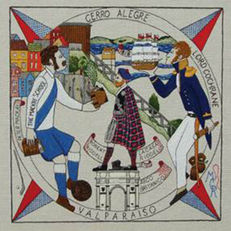 The Scottish Diaspora Tapestry heads to New Lanark