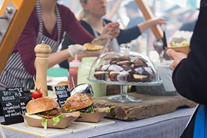 Vegan Events Festival Stand