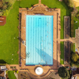 Sandford Parks Lido swimming pool