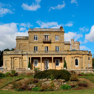 Exterior of Salomons Estate