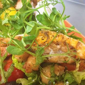 Healthy lobster salad at new Lake District restaurant