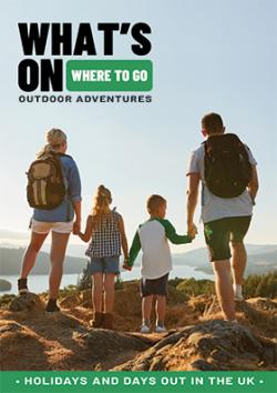 Outdoor Adventures Guide Front cover