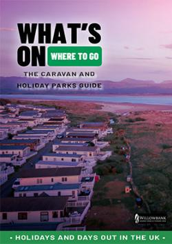 The holiday and caravan parks front cover