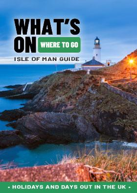 Isle of Man guide front cover